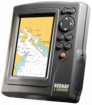 Geonav 6 Sunshine Kleuren Plotter Advitek Marine Systems